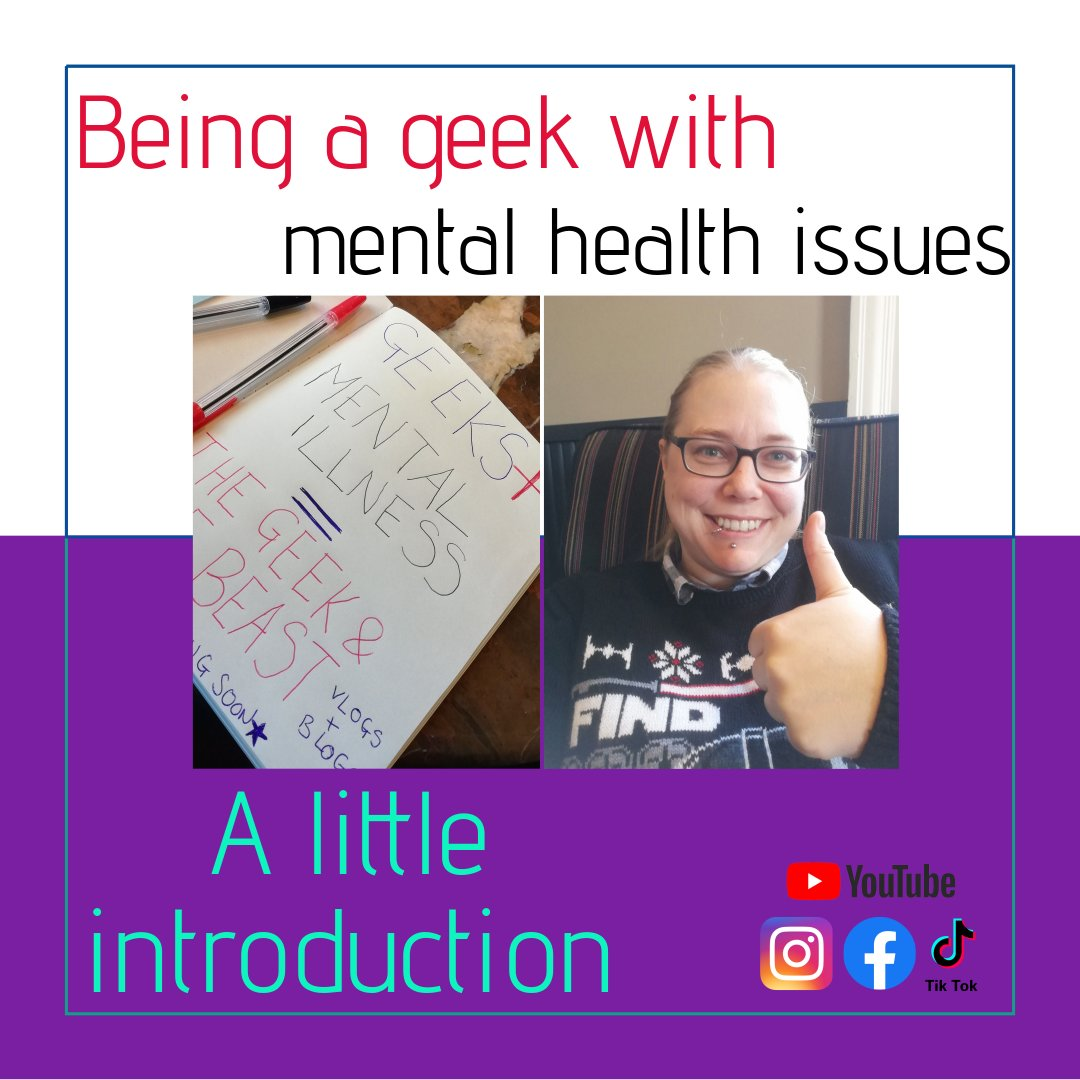 Image for Being a geek with mental health issues A little introduction blog