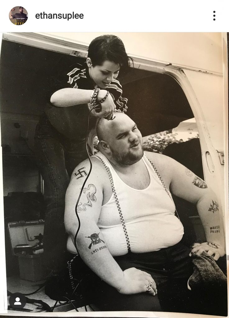 American history X image of Ethan Suplee
