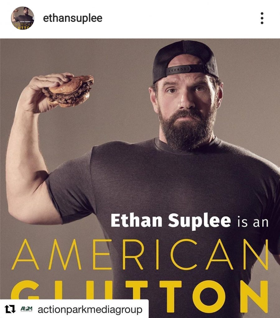 American Glutton podcast image of Ethan Suplee