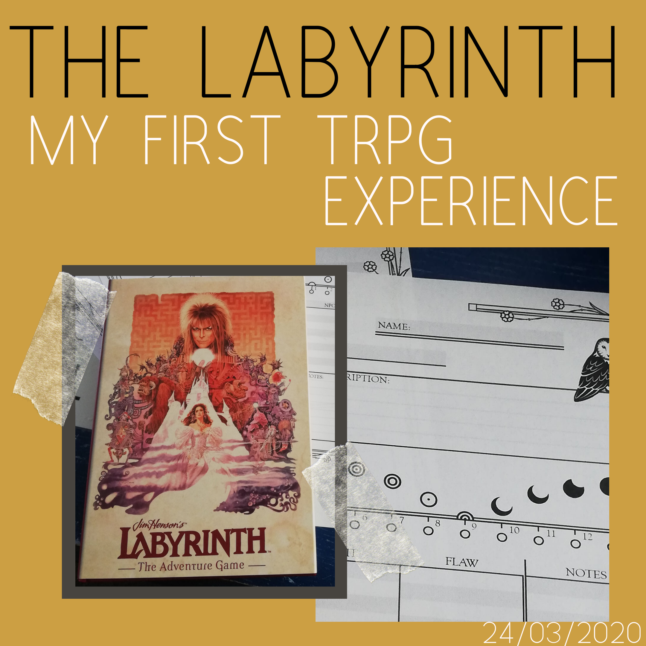 The Labyrinth My first TRPG Experience