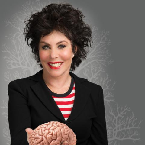 Picture of Ruby Wax - one of 6 successful women mentioned in this blog