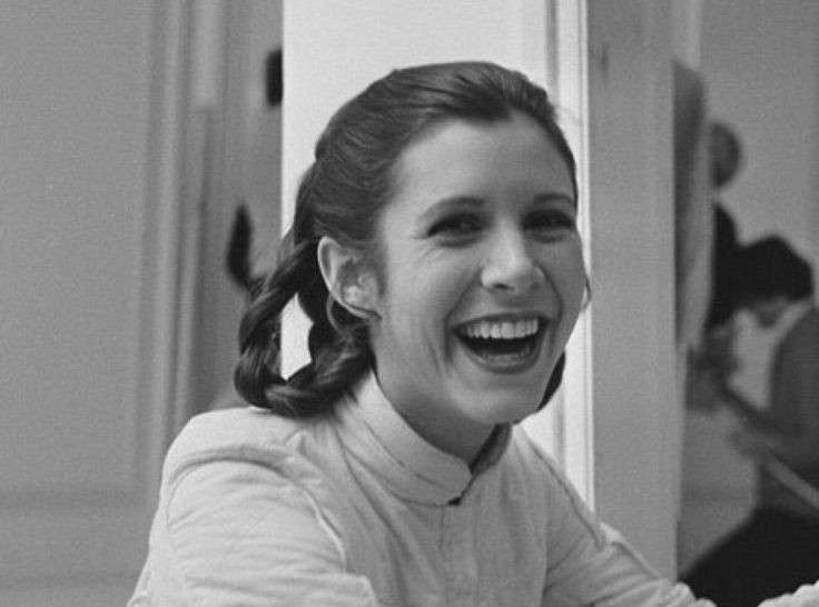 Picture of Carrie Fisher - one of 6 successful women mentioned in this blog