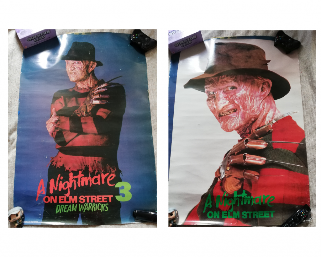 Two A Nightmare on Elm Street posters